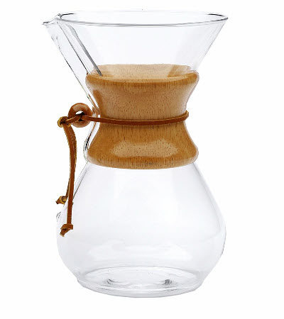 Chemex Kaffee Glaskaraffe