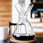 Glas Kaffeebereiter
