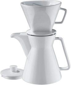 Kaffeebereiter aus Porzellan